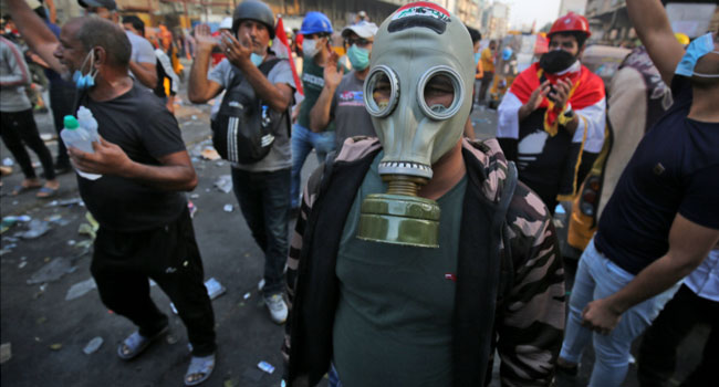 Iraqi Protesters Rally As UN Steps Up Mediation Efforts