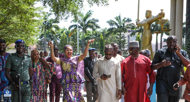 PHOTOS: Court Returns SDP's Natasha Akpoti To Kogi Governorship Race
