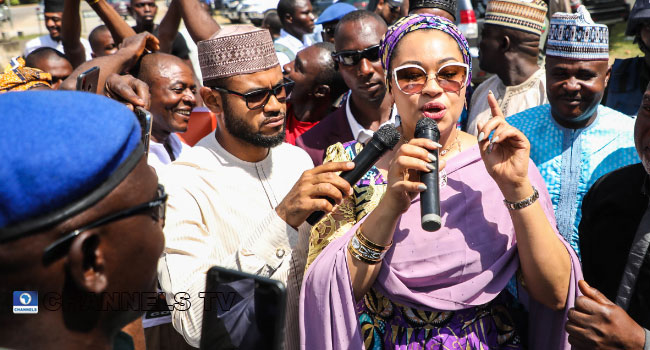 PHOTOS: Court Returns SDP's Natasha Akpoti To Kogi Governorship Race