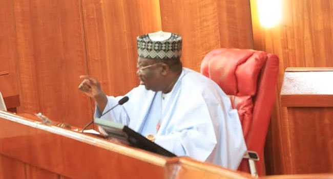 NASS Working To Pass 2020 Budget November 28, Says Lawan