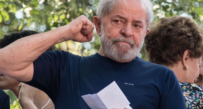 Brazil Judge Authorises Lula's Release From Jail