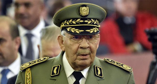 Algeria's Army Chief, Gaid Salah Dies