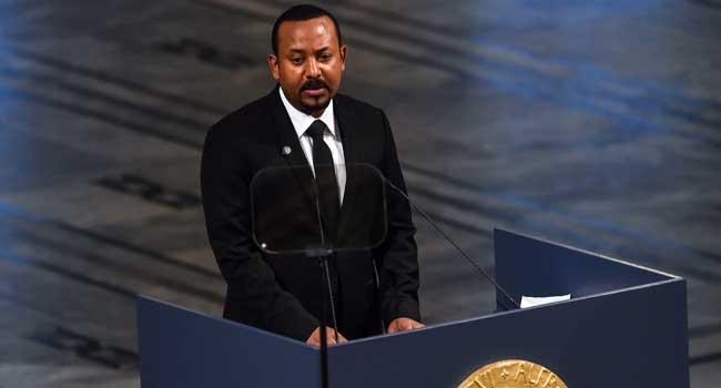 Ethiopia PM Hails Role Of Ex-Foe Eritrea In Nobel Peace Prize