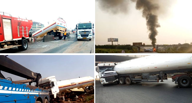 Christmas Day: Two Killed, Five Crashes Recorded On Lagos-Ibadan Expressway
