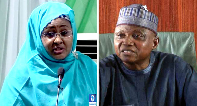 Aisha Accuses Garba Shehu Of Shifting His Loyalty From Buhari