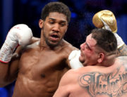 Anthony Joshua (left) is a British-Nigerian professional boxer who is a two-time unified heavyweight champion.