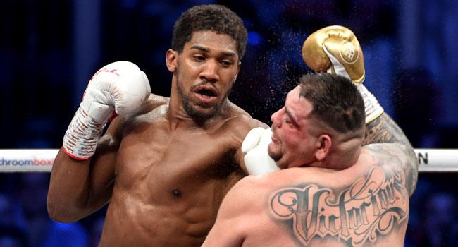 Anthony Joshua Vs Andy Ruiz Fight In Photos