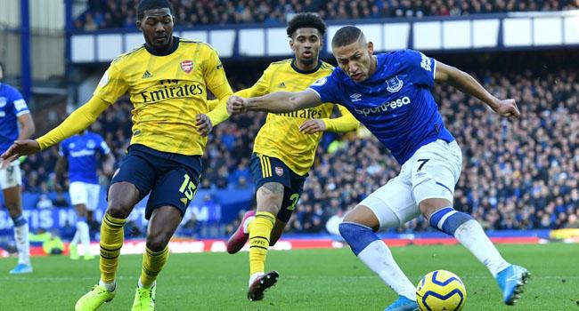 Everton Hold Arsenal As Ancelotti, Arteta Prepare To Take Charge