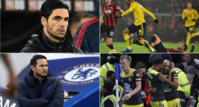 Arteta's Arsenal Off To A Slow Start As Chelsea Falter Again At Home