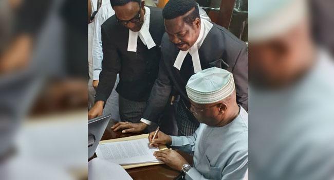 Atiku Files N2.5bn Libel Suit Against Buhari's Aide, Lauretta Onochie