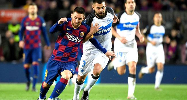 Messi Shines As Barcelona Thrash Alaves