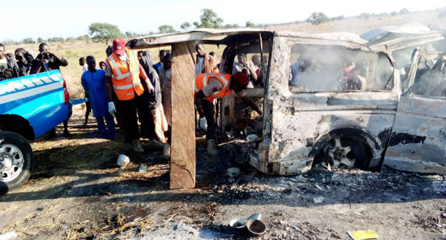 25 Burnt To Death In Bauchi – Kano Road Accident