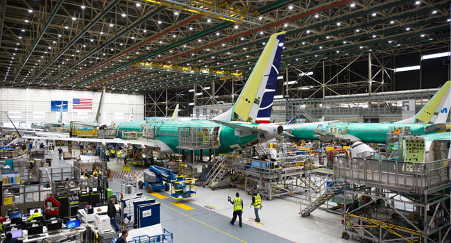Boeing To Halt Production Of Grounded 737 Max In January
