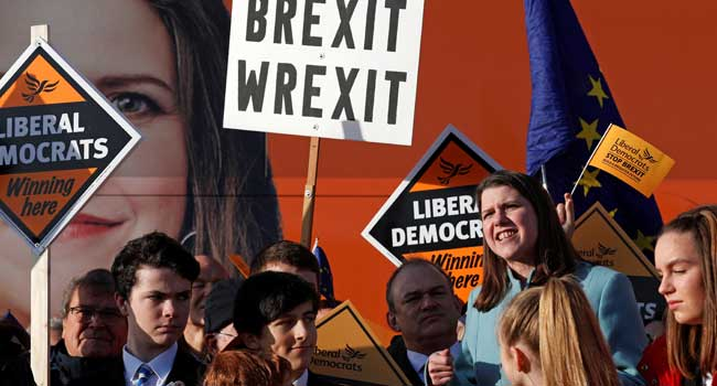 Polls Tighten On Eve Of Britain's Brexit Election