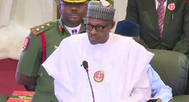 Continue To Respect Human Rights, Buhari Tells Soldiers