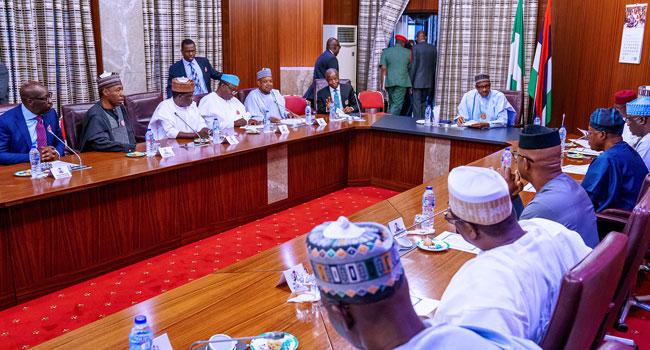 Buhari, APC Governors Meet In Abuja