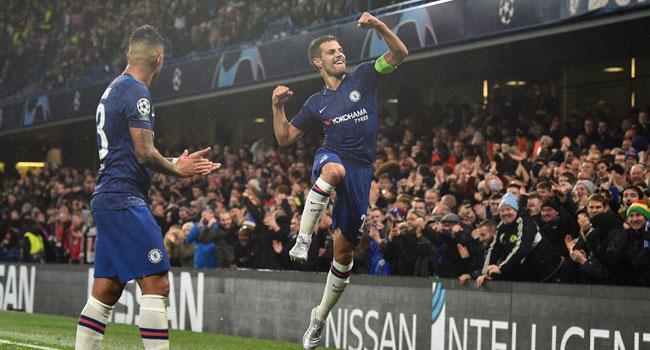 Chelsea Edge Past Lille, Qualify For Champions League Last 16