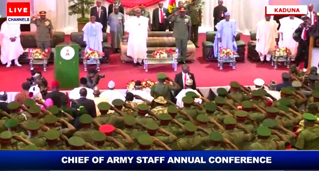 Chief Of Army Staff Conference Holds In Kaduna