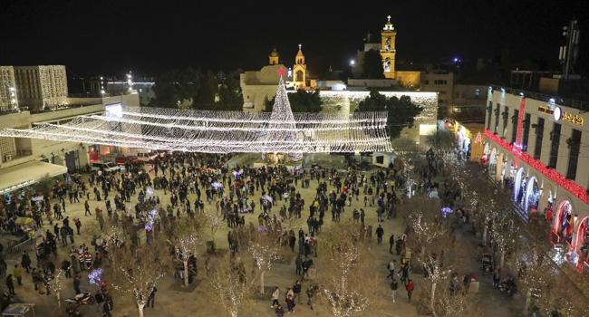 Bethlehem Welcomes Pilgrims For Christmas Celebrations