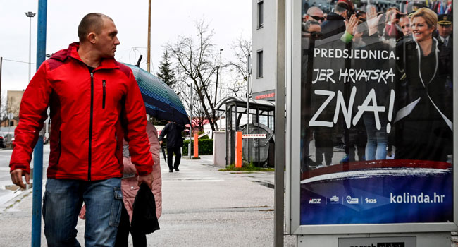 Croatians Take To The Poll In A Three-Horse Presidential Race