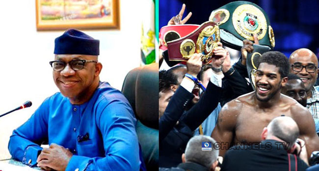 'My Joy Is Unquantifiable', Dapo Abiodun Celebrates Joshua's World Heavyweight Victory