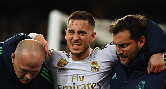 Hazard To Miss Spanish Super Cup Over Ankle Injury