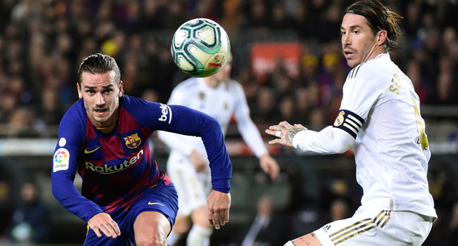 Barcelona, Real Madrid To Meet October After La Liga Fixtures Were Announced
