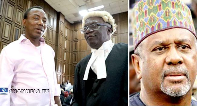 Dasuki, Sowore's Release: Falana Asks FG To Free El-Zakzaky, Wife, Others