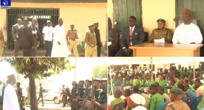 Governor Sule Grants Freedom To 60 Inmates