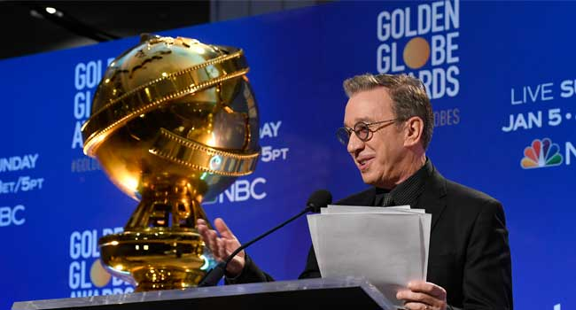 Pop Golden Globes Nominations Ceremony Begins