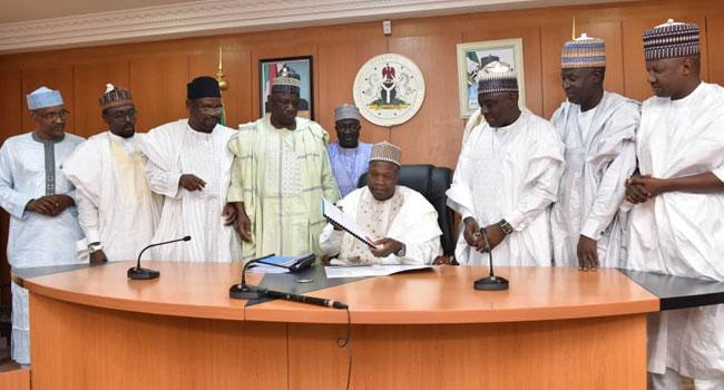 Yahaya Signs N130.83bn Gombe 2020 Budget