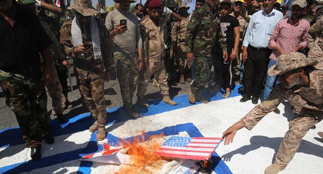US Strikes Kill 15 Pro-Iran Fighters In Iraq