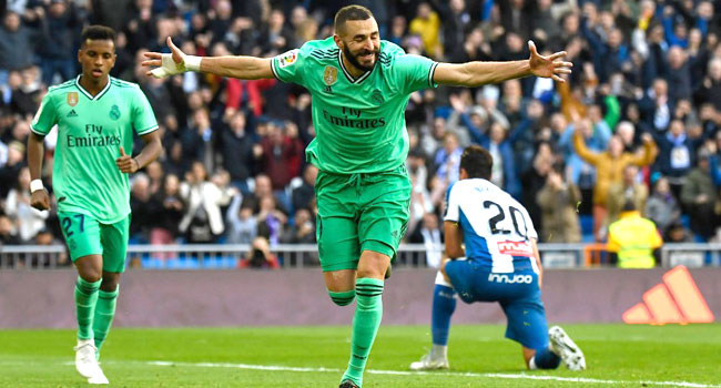 Benzema Delivers Again As Real Beat Espanyol