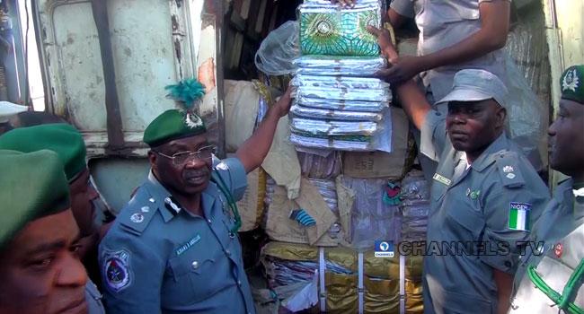Customs Intercept Smuggled Goods Worth N108m, Arrest Six Suspects