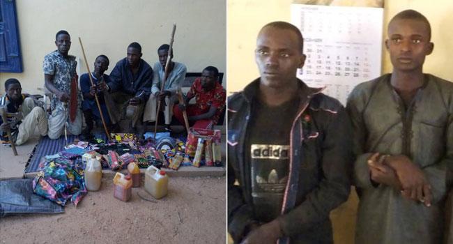 Police Arrest Members Of Notorious Kidnap Syndicates In Katsina