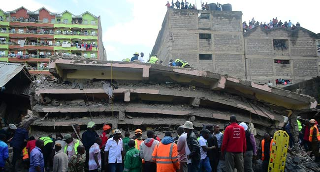 Three Dead In Kenyan Building Collapse