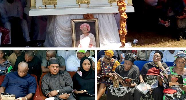 PHOTOS: PDP Woman Leader Who Was Set Ablaze In Kogi Buried Amid Tears