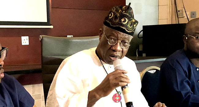 Lai Mohammed Orders Implementation Of 70% Local Content In Broadcasting