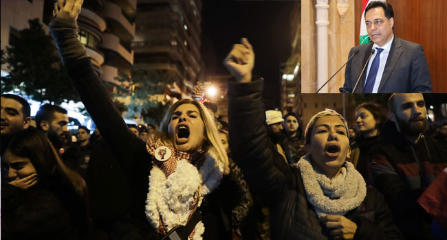 Protesters Storm New Lebanon PM's Home, Ask Him To Resign