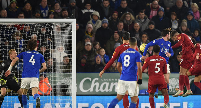 Liverpool Thrash Leicester To Stretch Lead In Premier League