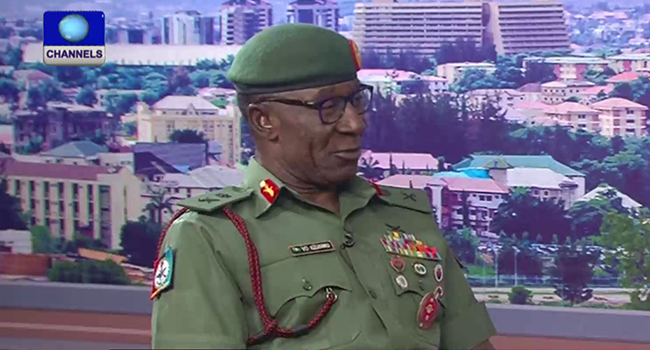 'Military Is Recruiting Young Nigerians To Innovate'