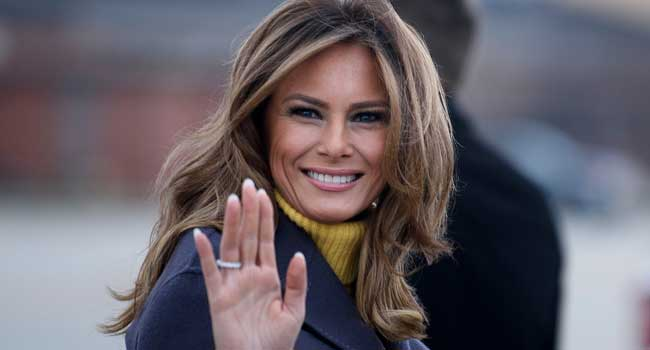 In Farewell Video, Melania Trump Says Be Passionate, But Not Violent