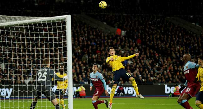 Arsenal Beat West Ham To End Worst Winless Run Since 1977