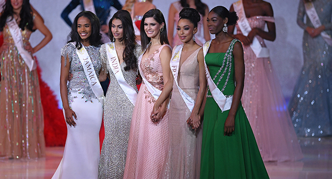 Ms. Douglas said the Miss World beauty pageant is essentially about making an impact on the world.