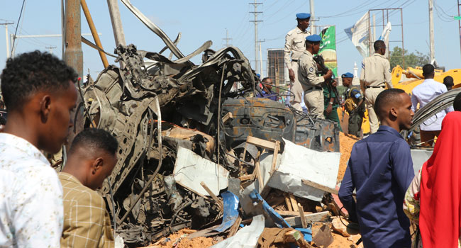Update: Car Bomb Leaves At Least 76 Dead In Somali Capital Mogadishu