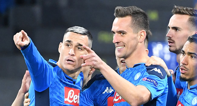 Napoli Thump Genk To Reach Champions League Last 16