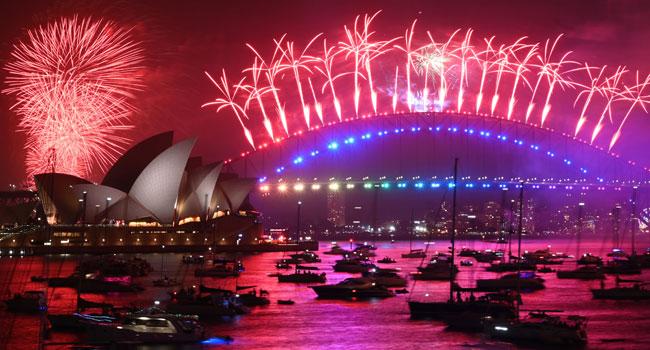 PHOTOS: Australia Celebrates 2020 With Fireworks