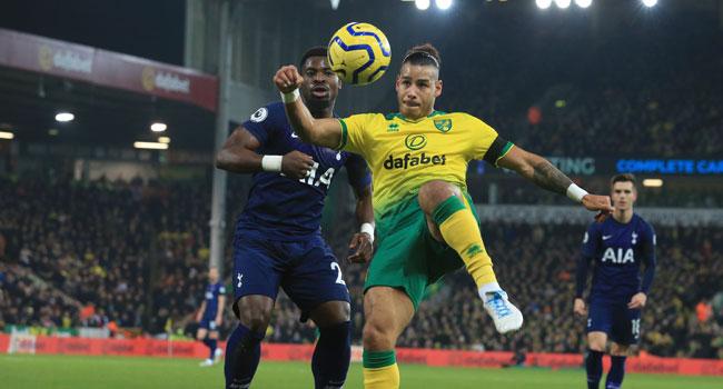 Norwich Hold Tottenham In Premier League