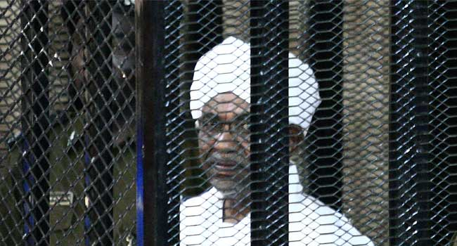 Sudan's Al-Bashir Sentenced To Two Years House Arrest For Corruption