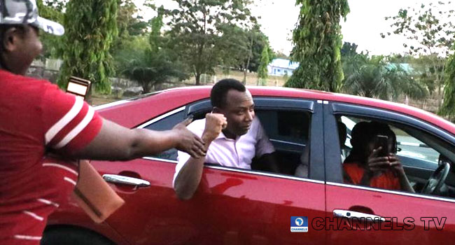 Freedom At Last: Omoyele Sowore Leaves DSS Custody (PHOTOS)